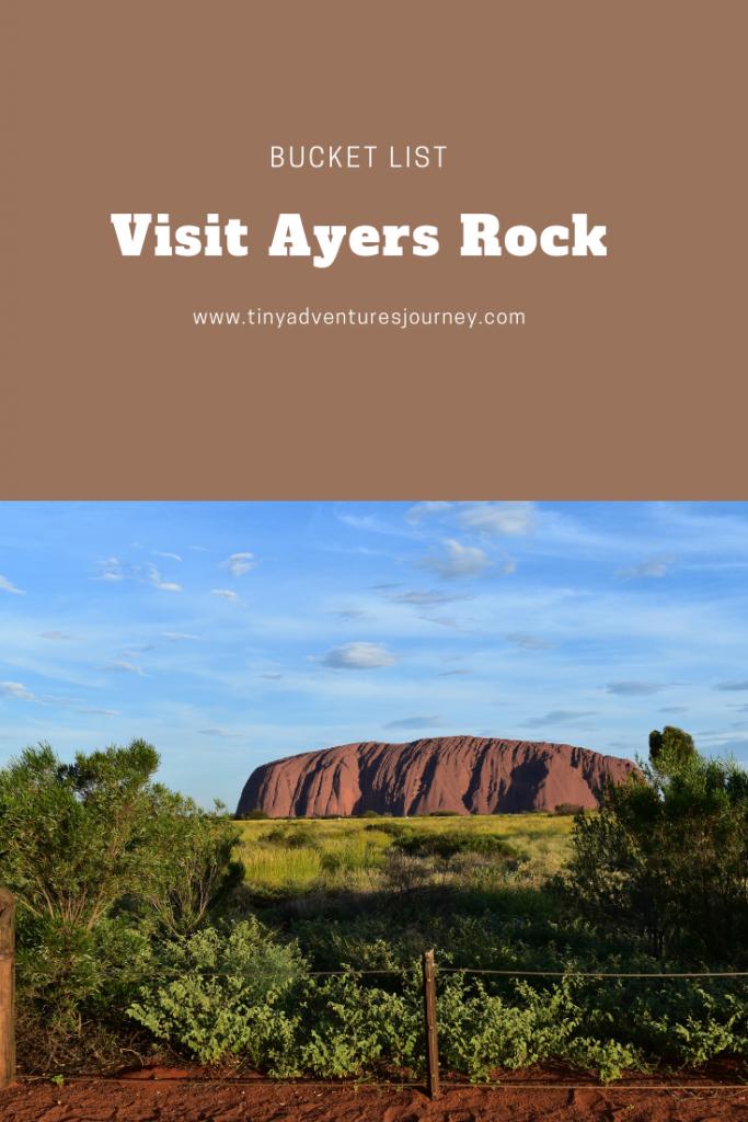 Visit Ayers Rock Pinterest Graphic
