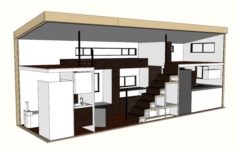 Tiny House Plans Drawn Up