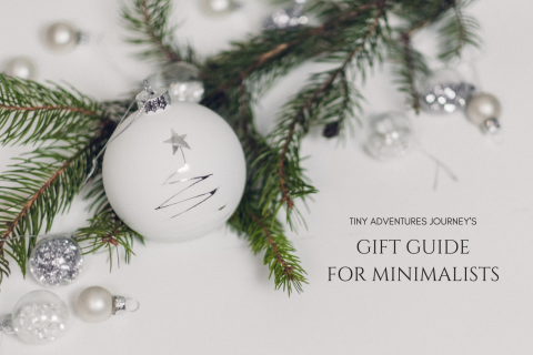 Minimalist Gift Guide