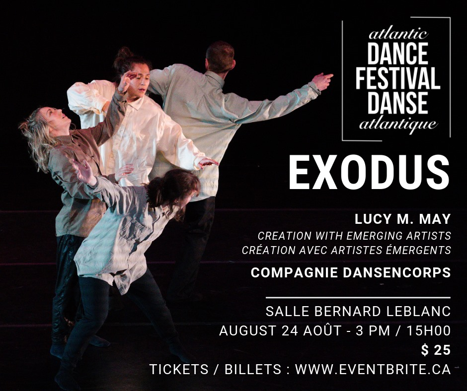 Moncton Danse Event in August