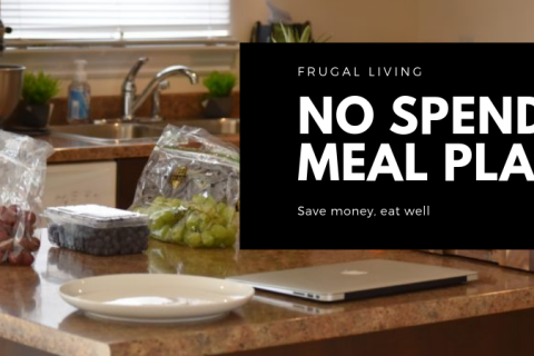 No Spend Meal Plan