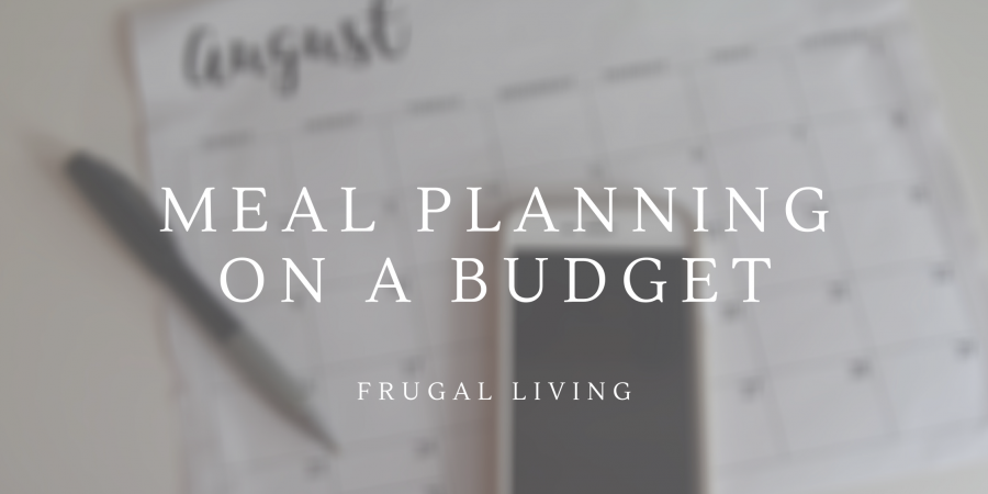 Budgeting Meal Plan