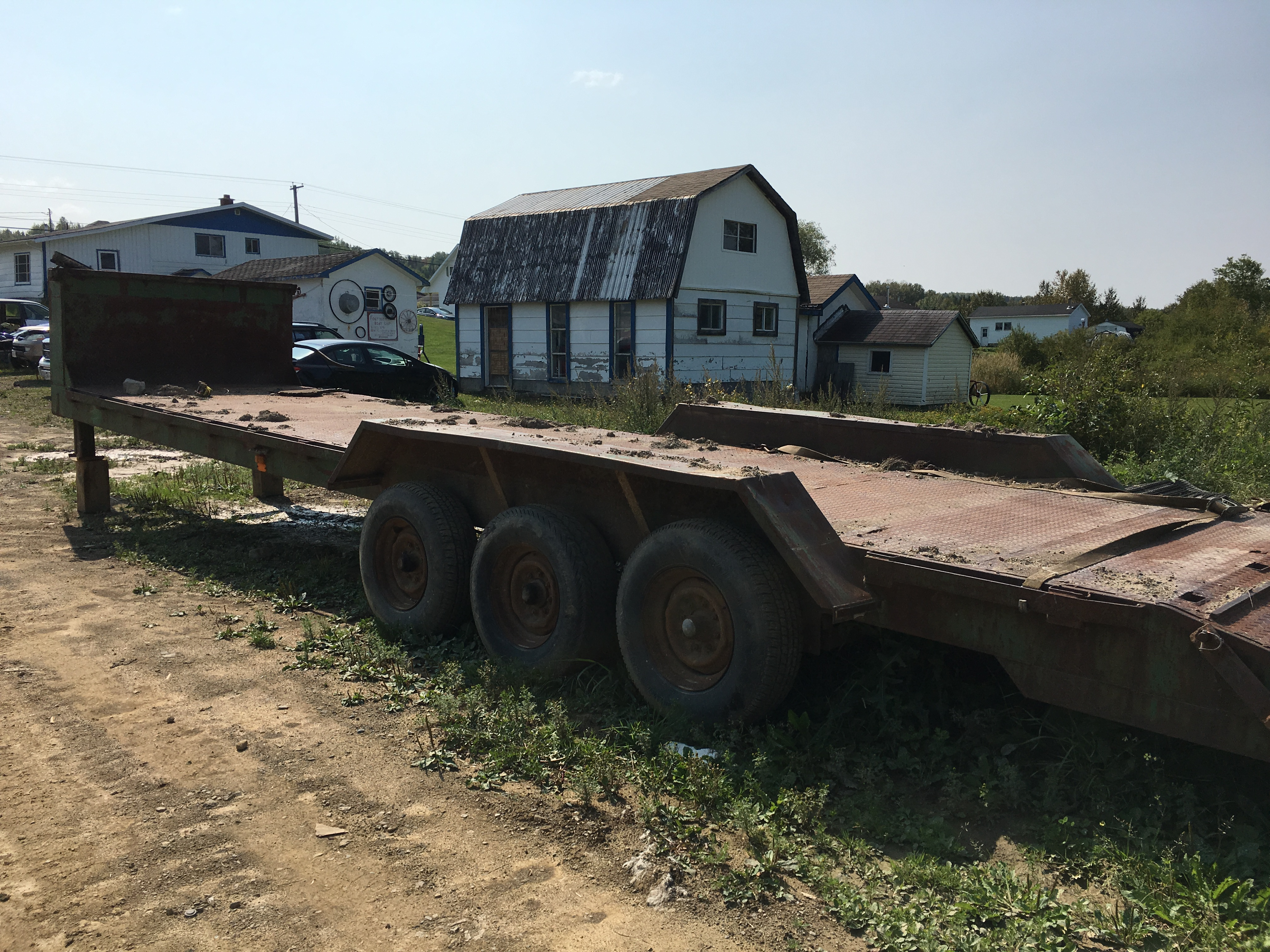 Gooseneck Trailer for Tiny House