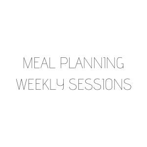 Weekly Meal Planning Sessions