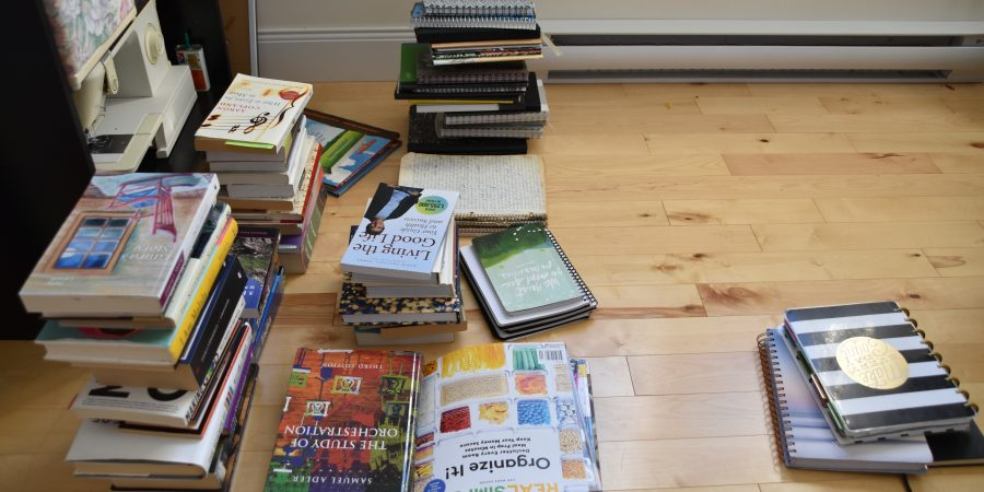 Decluttering Books KonMari Method