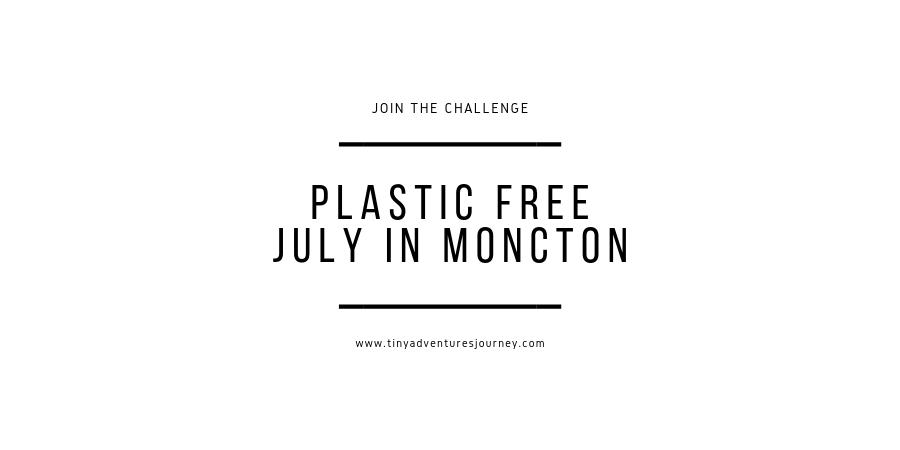 Moncton Plastic Free July Challenge