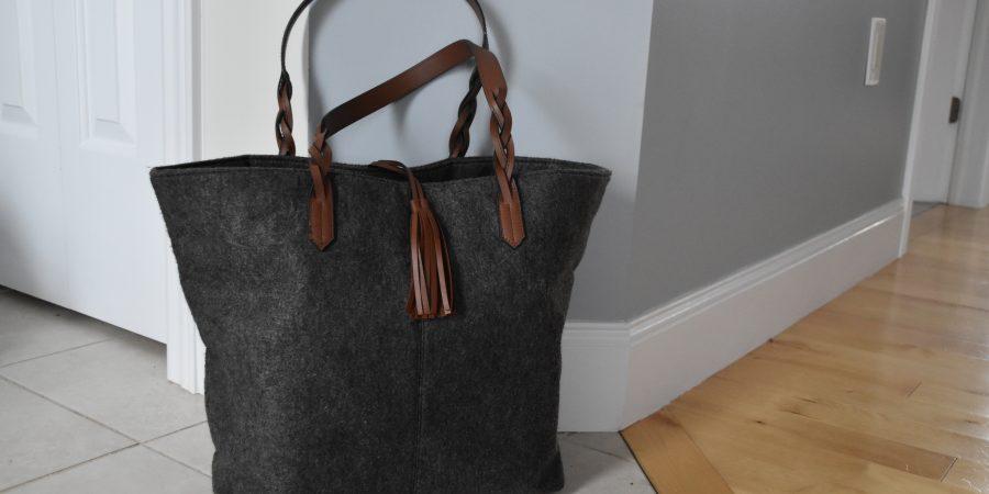 Minimalist Beach Bag