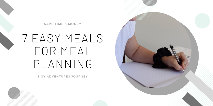 Easy Meals Meal Plan